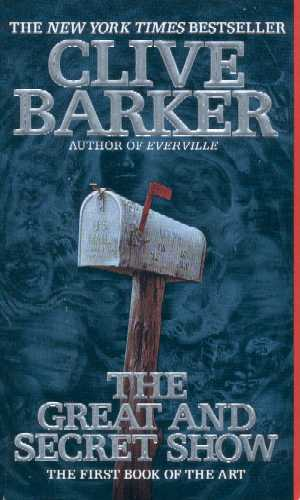 Clive Barker - Great & Secret Show - US paperback edition