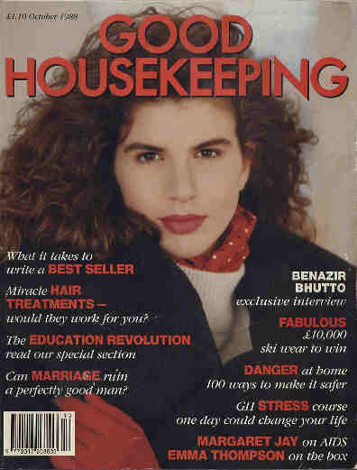 Good Housekeeping magazine, Vol.13 No.4, London, October 1988