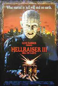 Clive Barker - Hellraiser III : Hell On Earth