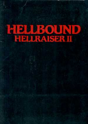 Hellbound US Press Kit, 1988