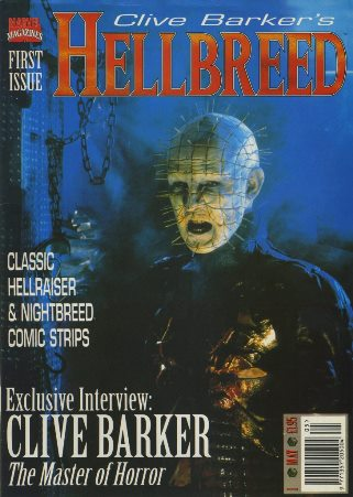 Clive Barker - Hellbreed magazine