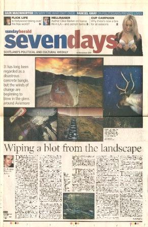 Sunday Herald, 18 November 2001