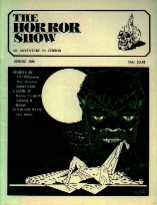 The Horror Show, Vol 4 Issue 2, Spring 1986