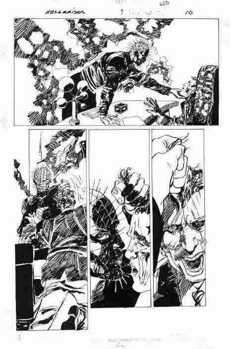 Hellraiser Book 9 Original Art