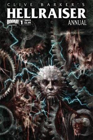 Clive Barker - Hellraiser Annual No 1 - Cover B