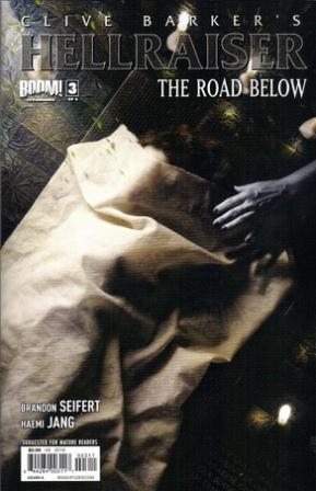 Clive Barker - Hellraiser The Road Below Issue 3 - cover A