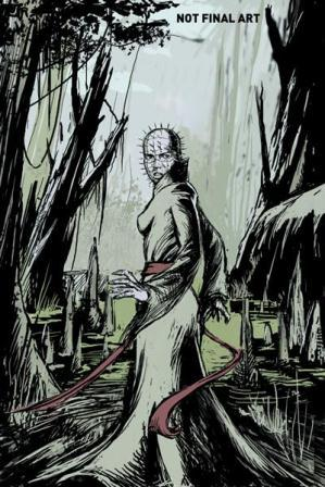 Clive Barker - Hellraiser The Road Below Issue 3 - cover C