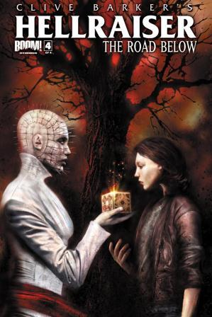 Clive Barker - Hellraiser The Road Below Issue 4 - cover B