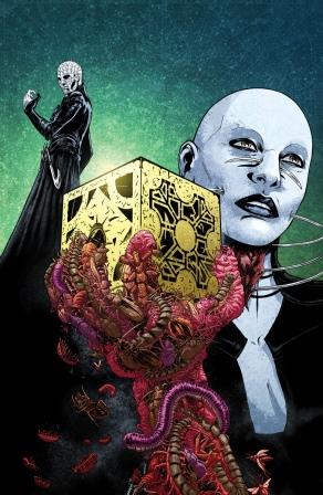 Clive Barker - Hellraiser Bestiary Issue 5 - variant (Paolo Villanelli)