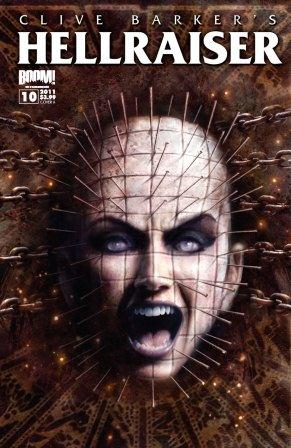 Clive Barker - Hellraiser Issue 10 - Cover B