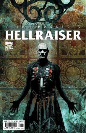 Clive Barker - Hellraiser Issue 1 - Tim Bradstreet cover art