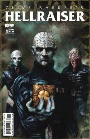 Clive Barker - Hellraiser Issue 1 - Nick Percival cover art
