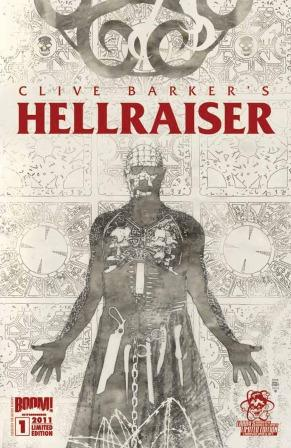 Clive Barker - Hellraiser Issue 1 - Larry's Comics cover, Bradstreet /><img src=