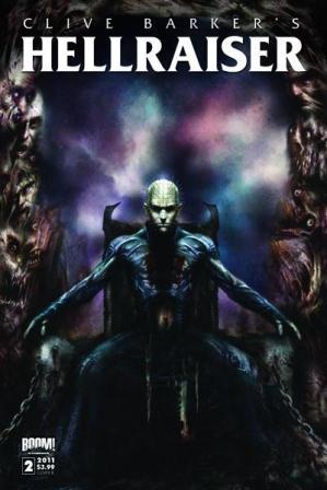 Clive Barker - Hellraiser Issue 2 - cover B