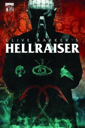 Clive Barker - Hellraiser Issue 5 - cover A