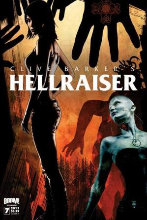 Clive Barker - Hellraiser Issue 7 - cover A (art unused)