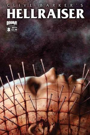 Clive Barker - Hellraiser Issue 8 - Cover B