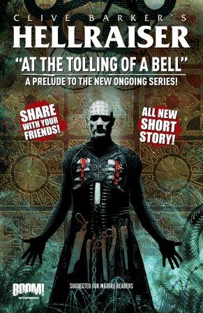 Clive Barker - Hellraiser - At The Tolling Of A Bell - Tim Bradstreet cover art