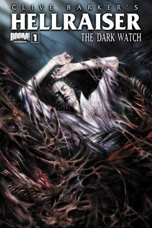 Clive Barker - Hellraiser TThe Dark Watch Issue 1 - cover B