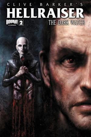 Clive Barker - Hellraiser TThe Dark Watch Issue 2 - cover B