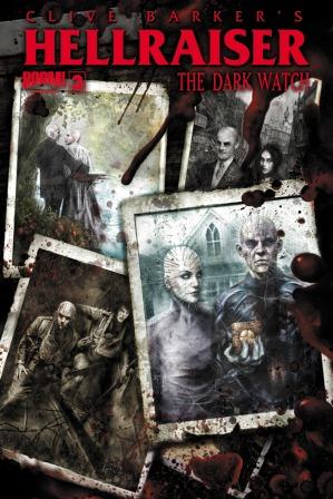 Clive Barker - Hellraiser TThe Dark Watch Issue 3 - cover B