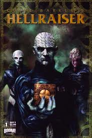 Clive Barker - Hellraiser TPB Vol 1 (art unused)
