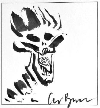 Clive Barker - Illustrator - Number 161