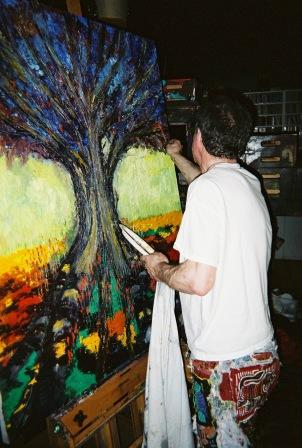 Clive Barker - In The Studio - April 2008