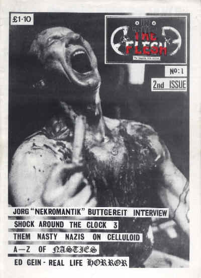 In The Flesh - No 1, 1989