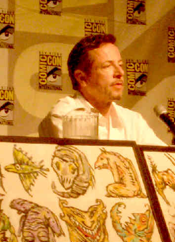 Panel appearance, San Diego Comic Con,  14 July 2005
