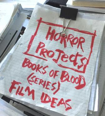 The Books of Blood project for TV