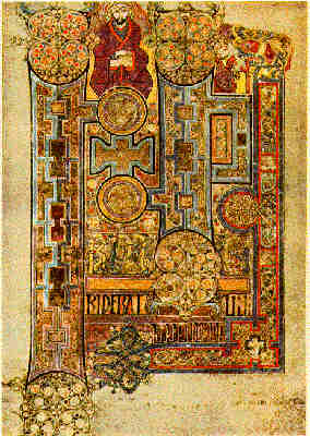 The Book of Kells - The Holy Gospel according to St John