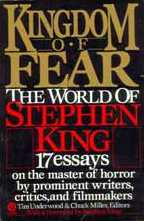 Kingdom Of Fear - paperback edition