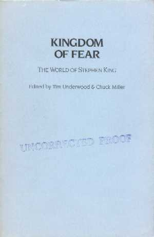 Kingdom Of Fear - proof
