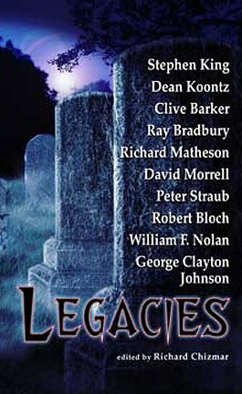 Legacies - cover art for both editions