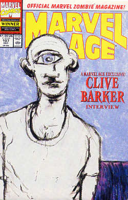 Marvel Age, No 107, December 1991