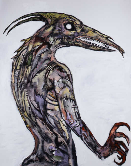 Clive Barker - Stitchling With White Eye