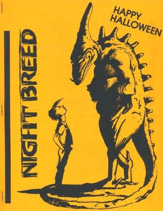 Nightbreed, Vol 1 No 4, October 1991