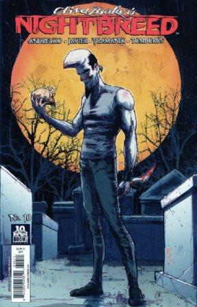 Clive Barker - Nightbreed Issue 10 - Riley Rossmo cover art
