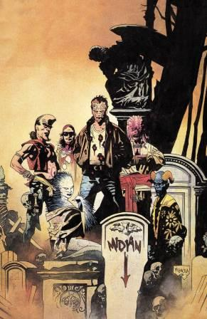 Clive Barker - Nightbreed Issue 1 - incentive - Mike Mignola cover art