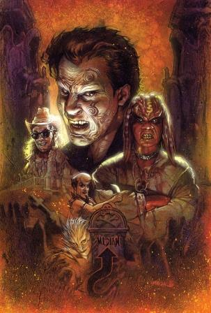 Clive Barker - Nightbreed Issue 1 - Phoenix Comic Con variant - Tony Harris cover art