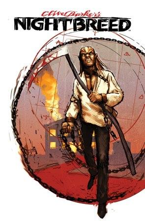 Clive Barker - Nightbreed Issue 2 - Riley Rossmo cover art