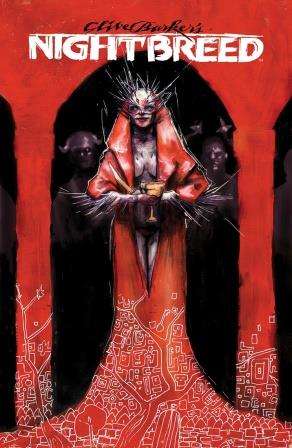 Clive Barker - Nightbreed Issue 3 - Riley Rossmo cover art