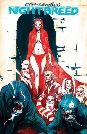 Clive Barker - Nightbreed Issue 4 - Riley Rossmo cover art