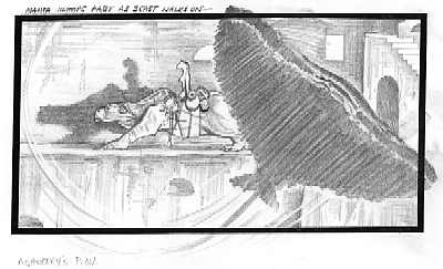 Nightbreed - Scene 230 Storyboards
