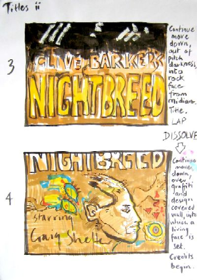 Clive Barker - Nightbreed Titles