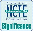 NCTE Annual Convention, 18-23 November, 2004