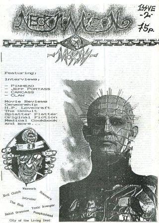 Necronomicon X Mortis, No 2, 1989