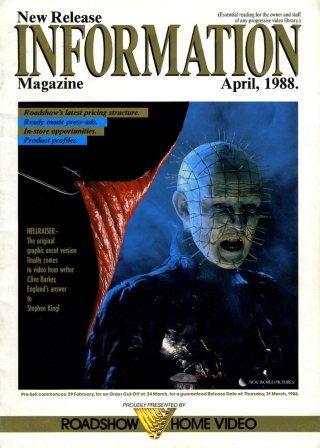 New Release Information, April 1988