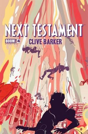 Clive Barker - Next Testament Issue 4, A cover art by Goni Montes
